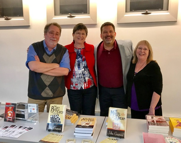 Author night at the Northfield, Minnesota Library