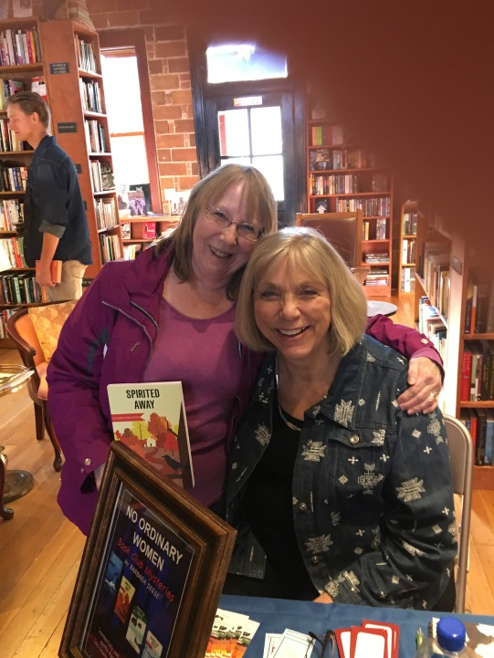 Author Barbara Deese and I