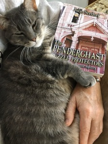 Boris loves my books