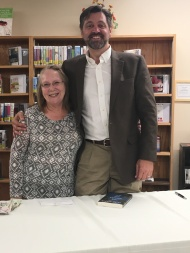 My Brush With Fame, Author Allen Eskens and I
