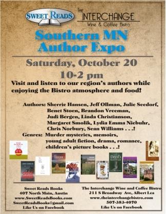Southern MN Author Expo 18 AL