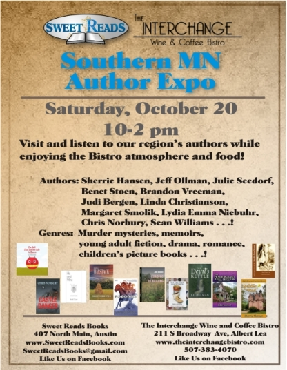 Southern MN Author Expo 18 AL