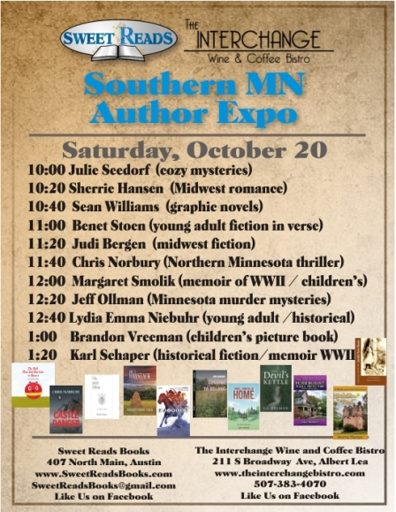 Southern MN expo times